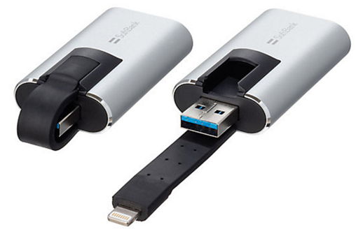 SoftBank SELECTION memory keeper microSDカードリーダー&ライター for iPhone iPad