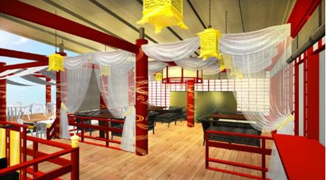 乙ちゃんの竜宮城VIPスペース