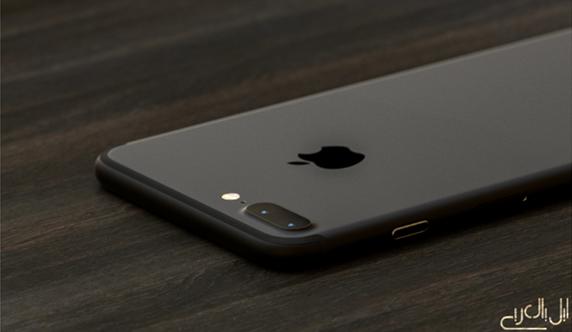 iPhone7plusダークブラック