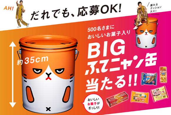 BIGふてニャン缶
