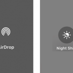 iPhoneの「Night Shift」と「AirDrop」の使い方【iOS11コントロールセンター】