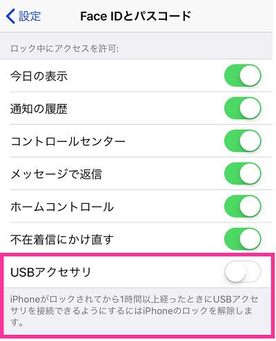 USBアクセサリ