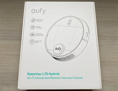 Eufy RoboVac L70 Hybridパッケージ