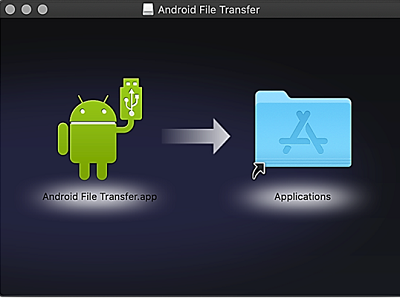 Android File Transferインストール