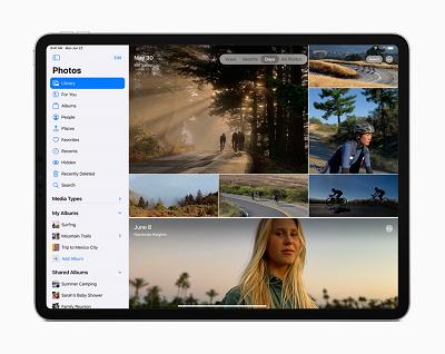 iPadOS14のサイドバー