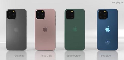 iPhone13シリーズのカラーバリエーション